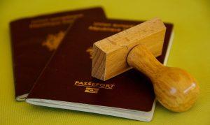 Illustration de démarches administratives - Passeport