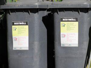 Conteneurs à ordures ménagères