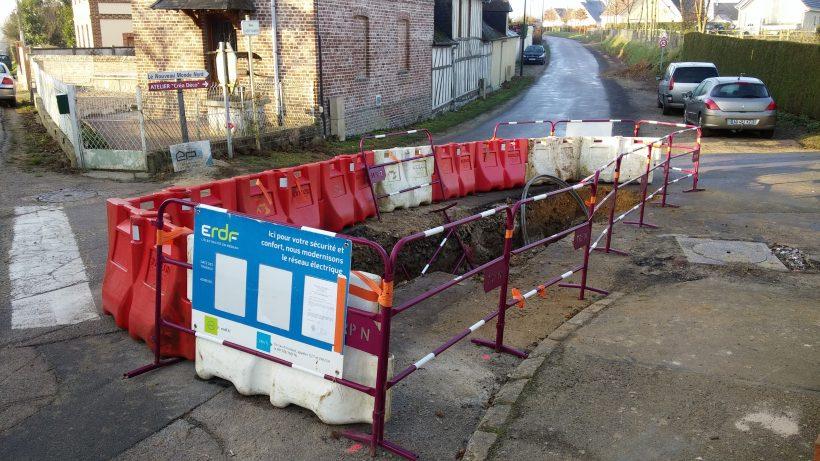 Travaux rue Saint-Martin : coupure électrique à venir