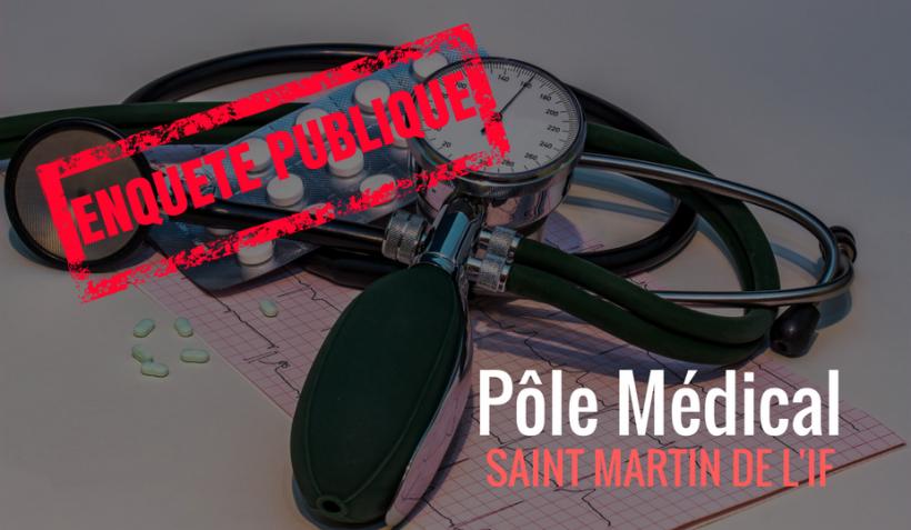 Ouverture de l'enquête publique du projet de pôle médical