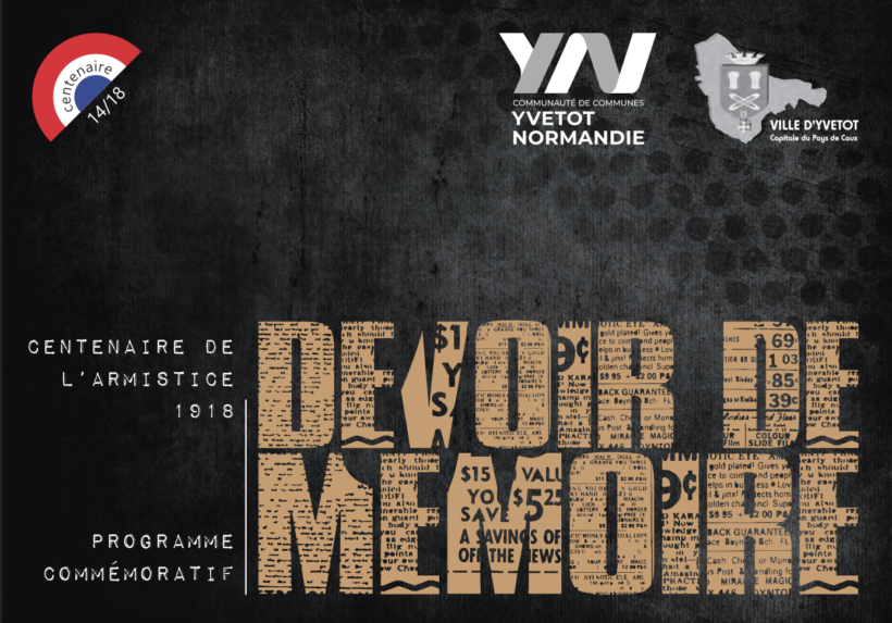 Centenaire de l'Armistice 1918 - Devoir de mémoire