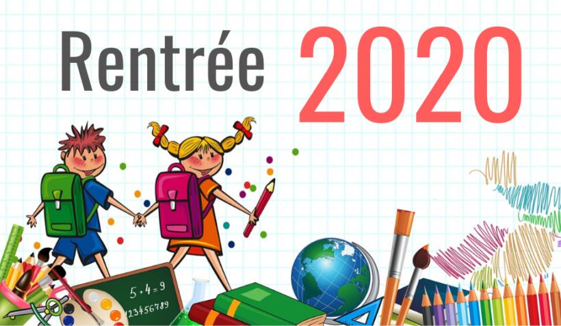 Inscriptions scolaires pour la rentrée 2020